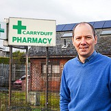 Garth Newberry, Carryduff Pharmacy