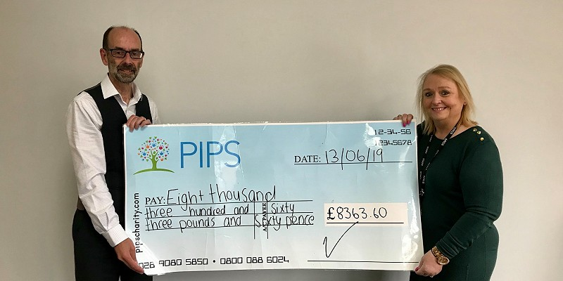 PIPS Fundraising 2018-19